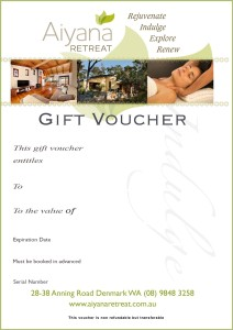 A gift voucher that is sent to the recipient.